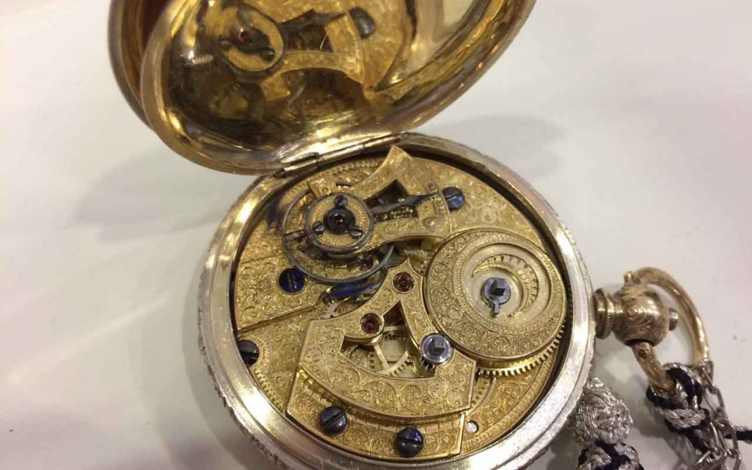 Restauración reloj de bolsillo Losada