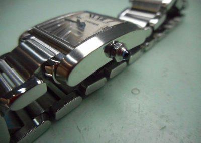 Pulido de un Tank de Cartier