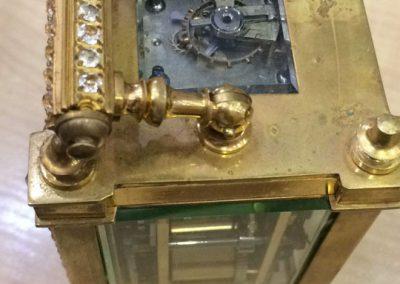 Restauración de un reloj suizo tipo carruaje de 1751